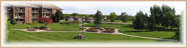 Walkways and grounds